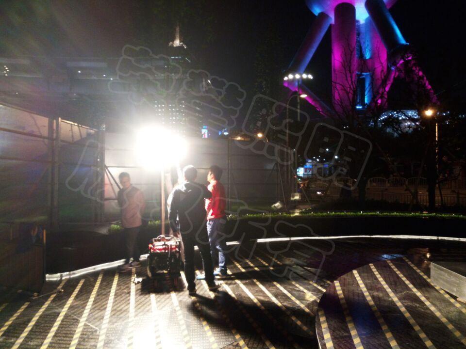 东方明珠二号门夜间施工dafa88 项目